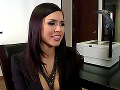 The Best Work Fuck in the Office with Brunette Vixen Eva Angelina