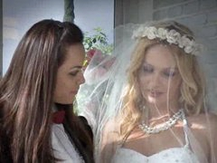 Sex after the lesbian wedding is hot..