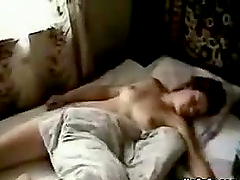 Hot Sleeping With With Amateur Teen..