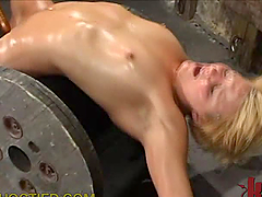 Bondage Blonde Is Teased and Fucked