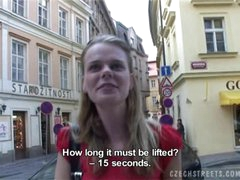 CZECH STREETS - VERONIKA BLOWS DICK..