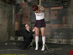Hot Femdom Action With Hot Student And..