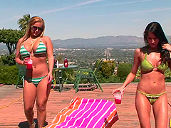 Pornstars Kortney Kane and Shyla..