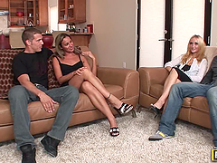 Leslie & Adriana Swap Husbands For Fun