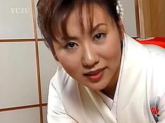 Japanese MILF Megumi Tsuchida Gives a..