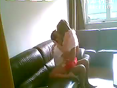 Hidden Cam Caughts Horny Teen in..