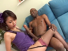 Marika Enjoys Two Big Black Dicks and..