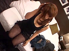 Gorgeous Japanese Girl with Nice Natural Tits Fucked