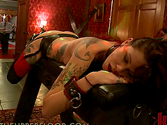 Hot Chicks Get Banged at a BDSM Party