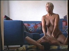 Blonde mature has amateur sex