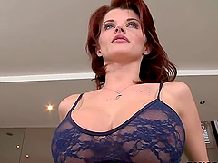 Redhead Milf Joslyn James Showing Her..