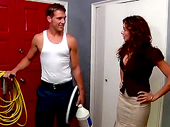 Busty MILF Ariella Ferrara Gets Her..