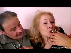 Mature Couple Has a Threesome with a..