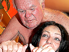 Old Men Vs Horny Teens in Cock-Bursting Compilation Tube Video