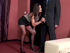 Horny Boss Valentina Cruz in High..