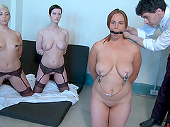 Three Babes Get Tested for Submission