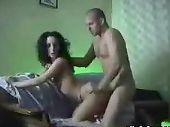 Skinny Slut Fucking Pecker