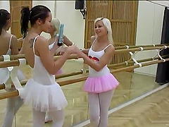Ballet Hotties Evelin And Sonia Red..