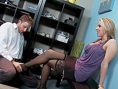 Busty Shoe-Loving MILF Carolyn Reese..