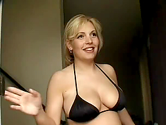 Insanly Hot Pregnant Blonde Krista..