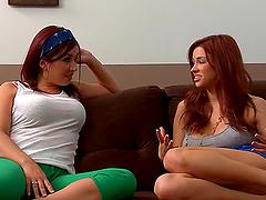 Roommates Sabrina Maree and Zoe..