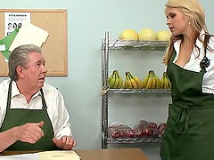Sarah Vandella Fucking the Costumers..