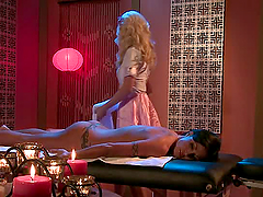 Hottest Big Tit Lesbian Massage