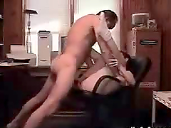 Hardcore Amateur Action in the Office in Homemade Clip