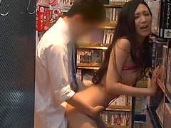 Perverted Asian Babe Gets In a Sex..