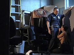 Sex in the Police Station with Officer..