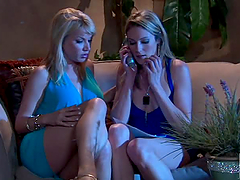 Blonde Housewives Angie Savage and..