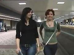 Two Lesbians Having Fun In The Tub