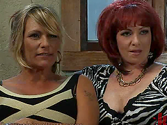Lesbian MILFs Go Wild After Watching..