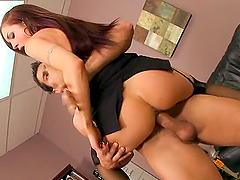 Hot Office Sex With The Busty Babe Amy..
