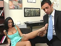 Foot Fetish Action in the Doctor's..