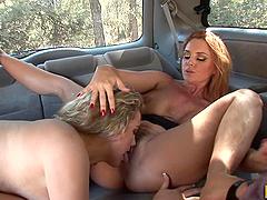 Janet Mason Gives Sammy Grand a Hot..