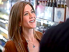 Alluring Jennifer Aniston getting..