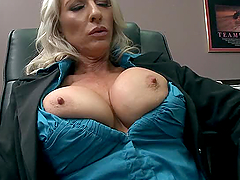 Big Tits Slut Office Milf Hardcore..
