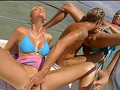 Great Outdoors Threesome on Yacht and..