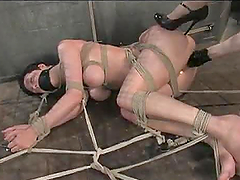 Lesbian Babe Gets Some Heavy Whipping