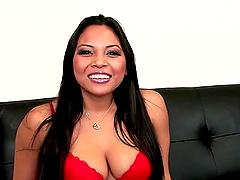 Adrianna Luna the sexy Latin chick..