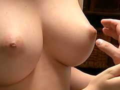 Pretty and Busty Japanese Girl Sucking..
