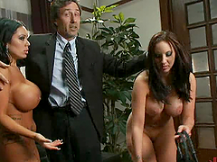 Hot Anal Threesome With a Married Couple