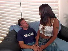 Destiny Deville gets her pussy hotly..