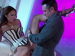 Doggystyle Action With The Sexy Asian..