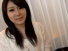 Stunning Japanese babe gets pounded..