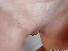 Close Up Scene Of A Hot Teen Getting..