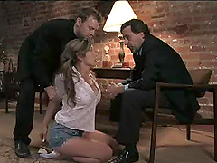 Surprise Threesome with a Hot Teen
