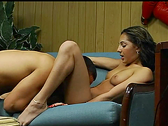Amazing threesome FFM sex with two..