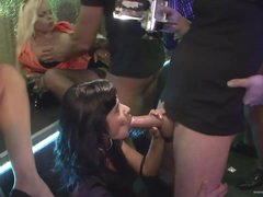An Amazing Orgy With Drunk Babes In A..